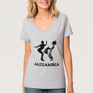 JAZZAMBIAの服装 Tシャツ