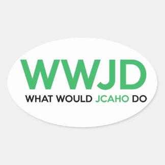 JCAHOは何をしますか。 楕円形シール