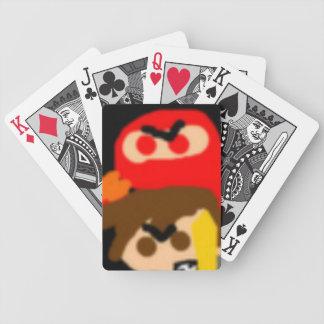 JCWのSmackdownの忍者およびヨセフのトランプのポーカーのトランプ バイスクルトランプ