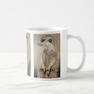 JDのラピスラズリのmeerkatのマグ コーヒーマグカップ