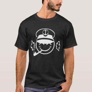 JDMのにこやかな船員のPopeyeの黒く暗いTシャツ Tシャツ