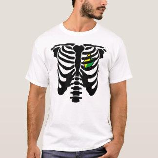 JDMのハートおよび肋骨 Tシャツ