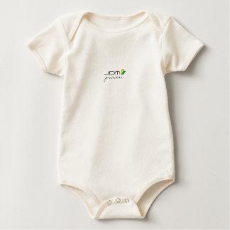 JDMのプリンセスSoshinoyaのロゴ ベビーボディスーツ