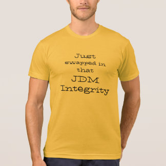 "JDMのCookout ""JDM完全性交換""のティー Tシャツ"
