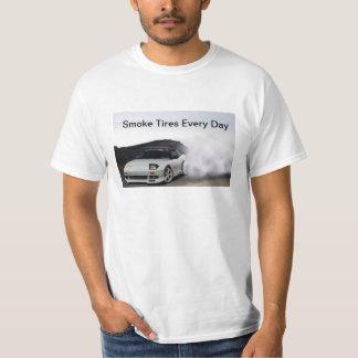 JDM日産240sx S13の煙は毎日疲れます Tシャツ