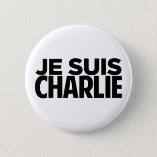 jeのsuisチャーリー 5.7cm 丸型バッジ