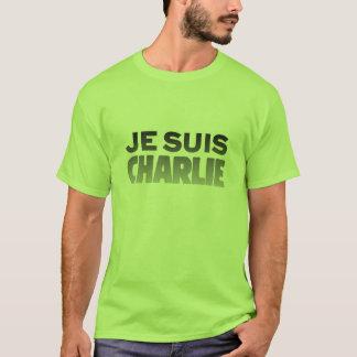 Je Suisチャーリー-私はチャーリーのライムです Tシャツ