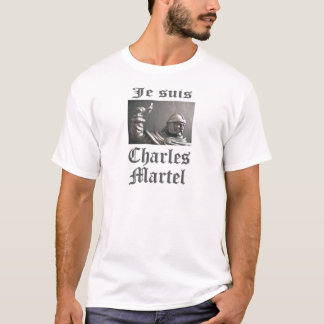 Je SuisチャールズMartel (写真) Tシャツ