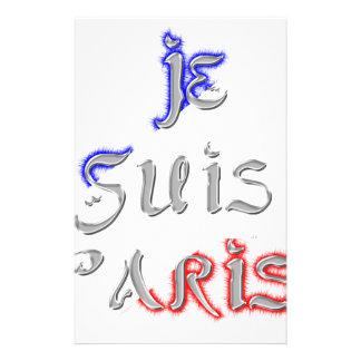 Je SuisパリI愛パリ 便箋