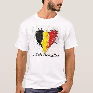 Je Suisブリュッセル(私はブリュッセルはです) Tシャツ