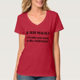 Je Suis Malala - L'éducationはles Fillesを注ぎます Tシャツ