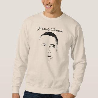 Je suis Obama スウェットシャツ