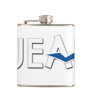 JEAHのビニールの包まれたなフラスコ フラスク