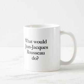 Jean-Jacques Rousseauする何が コーヒーマグカップ