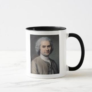 Jean-Jacques Rousseauのポートレート マグカップ