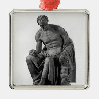 Jean-Jacques Rousseauへの記念碑のためのモデル メタルオーナメント