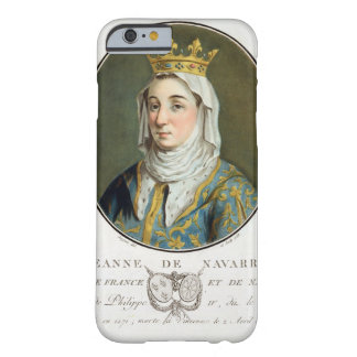 Jeanne deナバール(1271-1304年)のポートレート、1788年(c barely there iPhone 6 ケース
