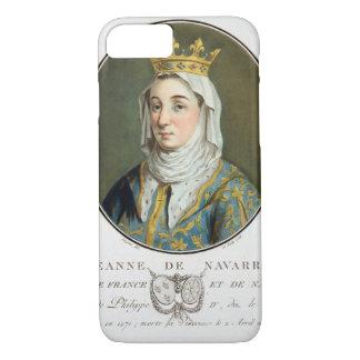 Jeanne deナバール(1271-1304年)のポートレート、1788年(c iPhone 8/7ケース
