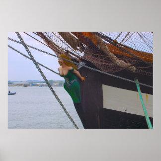 """""""Jeannieジョンソン""""の高い船、頭首 ポスター"""