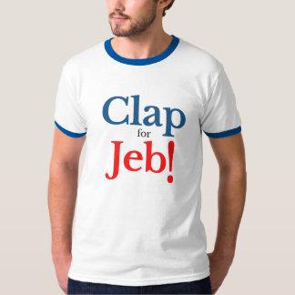 Jebの大統領候補2016年のために叩いて下さい Tシャツ