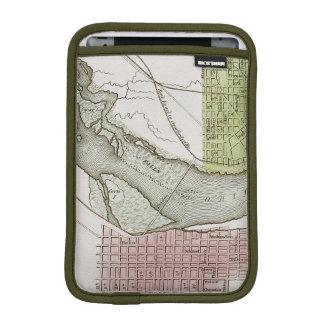 JEFFERSONVILLE、インディアナ: 地図 iPad MINIスリーブ