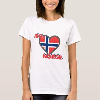 Jeg Elsker Norge (I愛ノルウェー) Tシャツ
