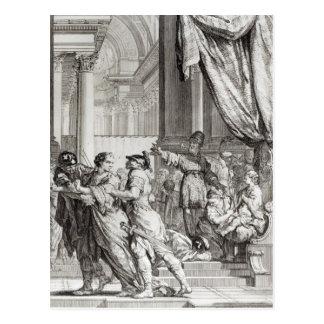 Jehoiada、エルサレムの宣言の高僧 ポストカード