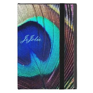 JeJolieの孔雀のiPad Miniカバー iPad Mini ケース