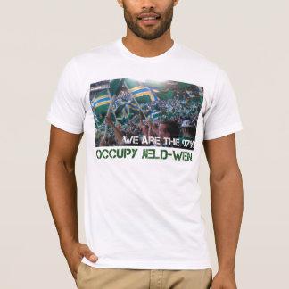Jeld-Wenのワイシャツを占めて下さい Tシャツ