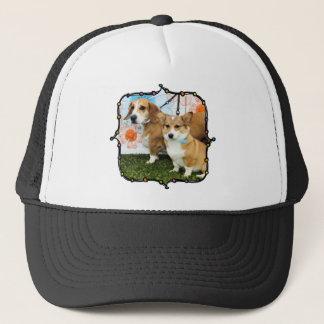 Jella =コーギーおよびエマのビーグル犬または低音またはブルドッグ キャップ