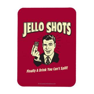 Jelloの打撃: あなたがこぼすことができない飲み物 マグネット