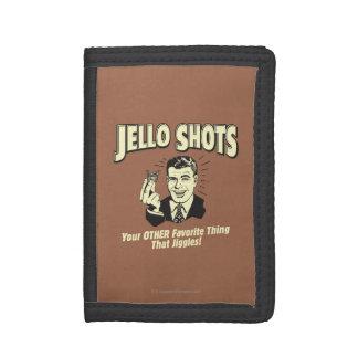 Jelloの打撃: 他のお気に入りのな事 ナイロン三つ折りウォレット