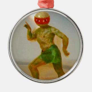 Jellybottysの星の体の仲間の製品種目 シルバーカラー丸型オーナメント