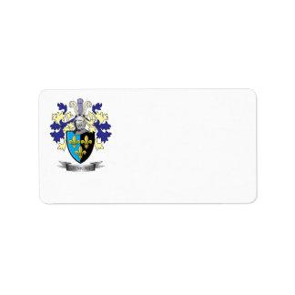 Jenkinsの家紋の紋章付き外衣 ラベル