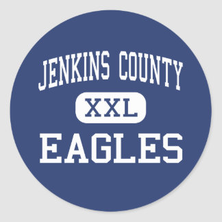 Jenkins郡イーグルス中間のMillenジョージア ラウンドシール