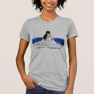 Jennマーティン(プリンセス)の女性ワイシャツ Tシャツ