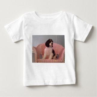 Jennaの三アメリカン・コッカー・スパニエルの子犬 ベビーTシャツ
