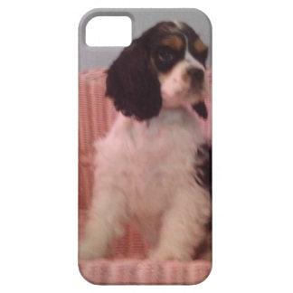 Jennaの三アメリカン・コッカー・スパニエルの子犬 iPhone SE/5/5s ケース