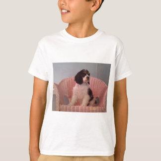 Jennaの三アメリカン・コッカー・スパニエルの子犬 Tシャツ