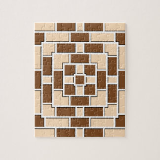 Jennysの美しい煉瓦パターン多数プロダクトs ジグソーパズル