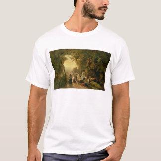 Jephthahの娘の泣くこと、1846年 Tシャツ