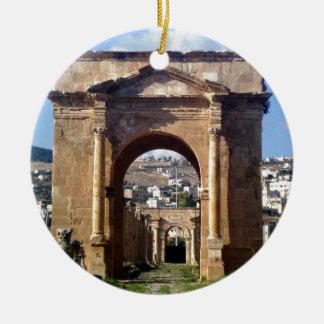 Jerashのローマの出入口 セラミックオーナメント