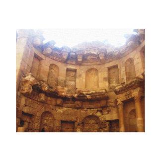 Jerashのローマ建築 キャンバスプリント