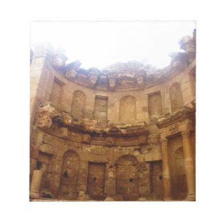 Jerashのローマ建築 ノートパッド