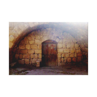 Jerashの古代ドア キャンバスプリント