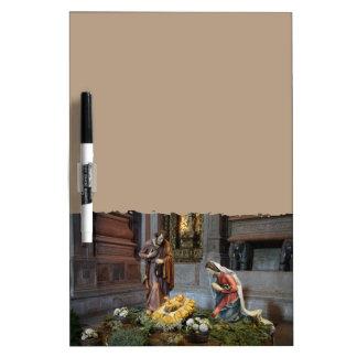 Jeronimosの聖者メリー、イエス・キリストおよびセントジョーゼフ ホワイトボード