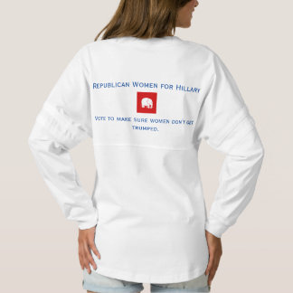 jerseyの精神のワイシャツ-ヒラリーのための共和党の女性 スピリットジャージー