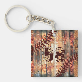 Jersey Number or Monogram Keychains for Men キーホルダー