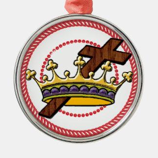 Jesseの木の王冠のオーナメント#1 メタルオーナメント