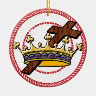 Jesseの木の王冠のオーナメント#2 セラミックオーナメント